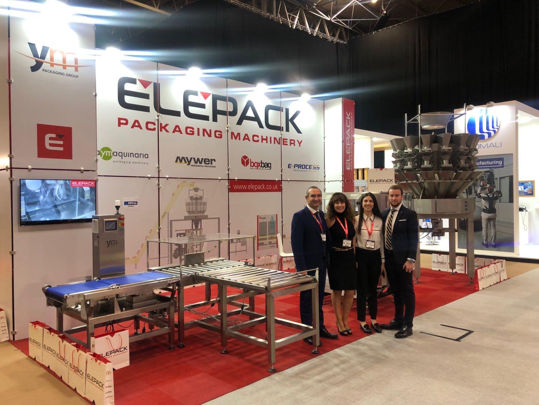 Elepack presente en PPMA Show 2018