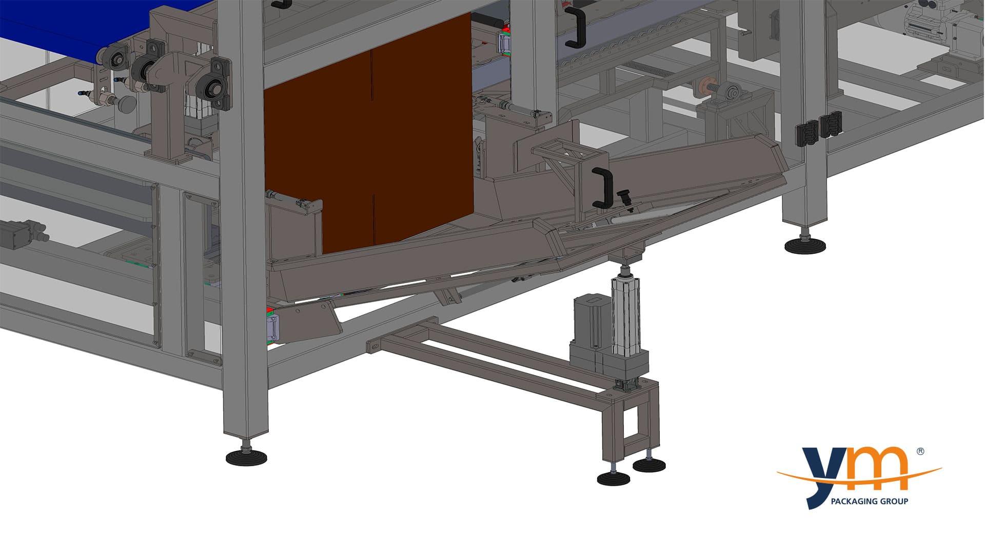 Línea de encajado o empaquetado multiformato