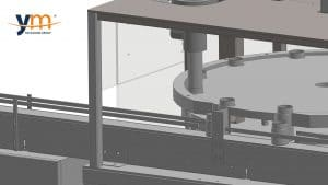 Llenadora botes rotativa YM Packaging
